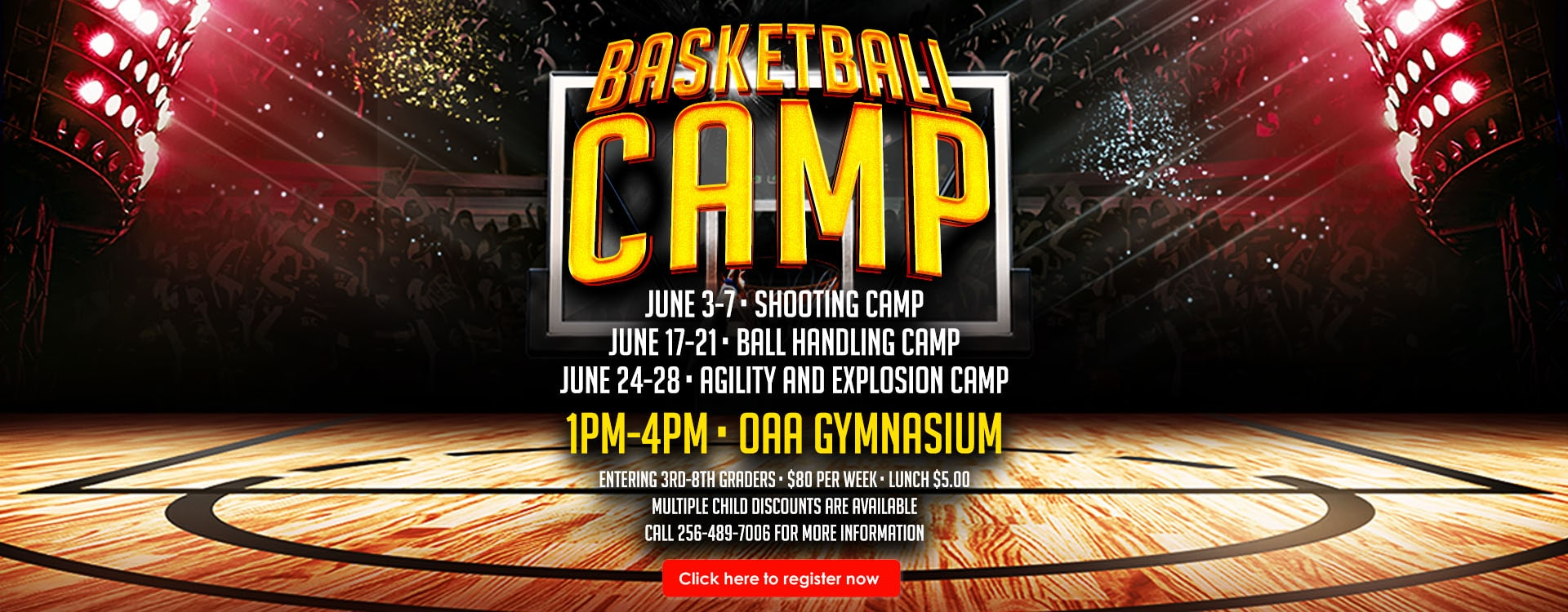 Basketball Camp – Web Banner