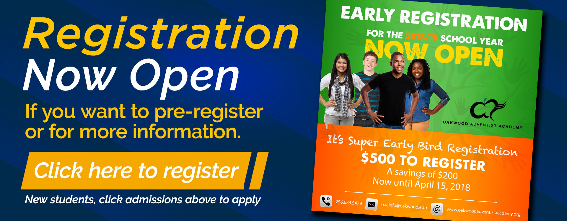 Registration – Web Banner