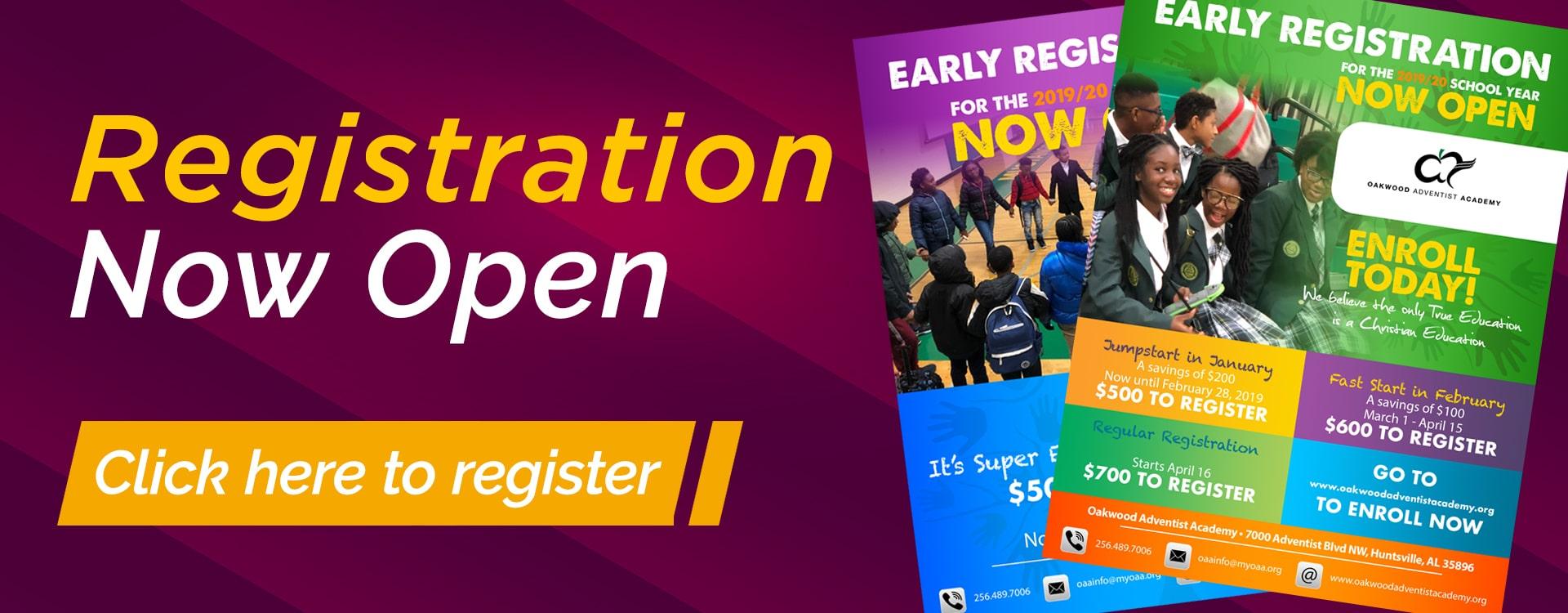 Registration – Web Banner