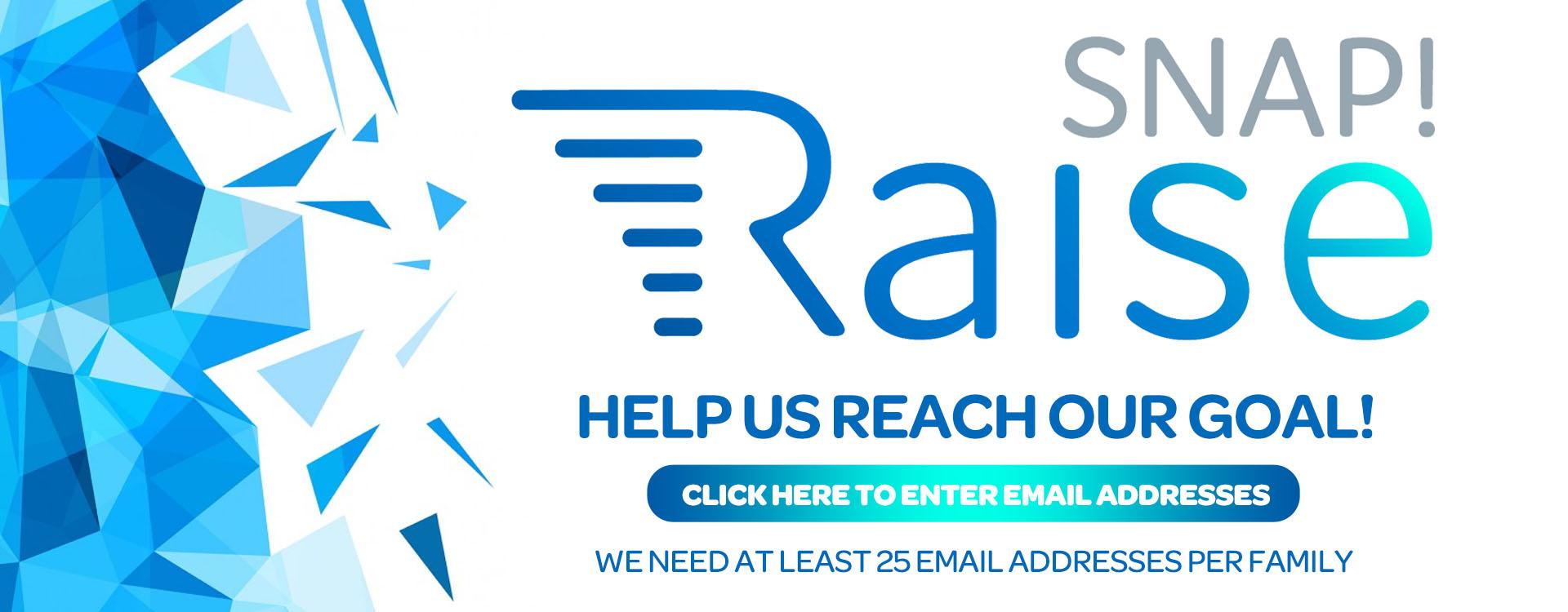 Snap! Raise – Web Banner
