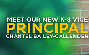 Meet our new Vice Principal for K-8