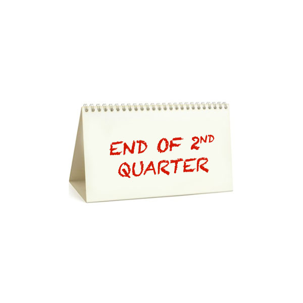 End Of 2nd Quarter (41 Days)